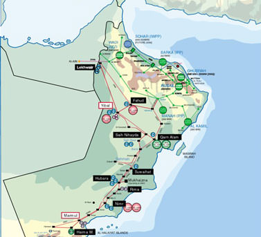 Drill Cool in different Oman locations