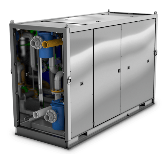 Drill Cool's Rapid Response FX Geo-Cooler mud cooler - shipped, installed, and running in hours