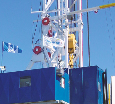 Drill Cool's GCFX Geo-Chiller in action on a drilling rig