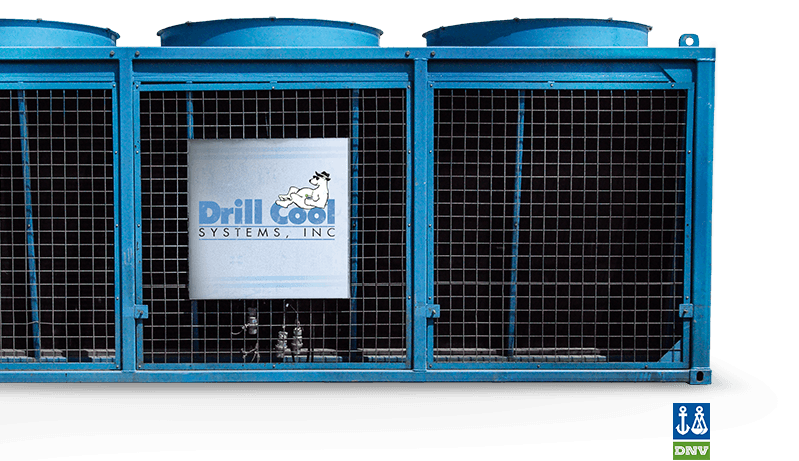 Drill Cool's Dry Air Geo Cooler mud cooler