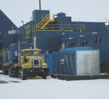 View Drill Cool's Geo-Cooler mud cooler in the Arctic