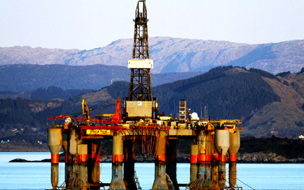 Cladhan Oil Platform